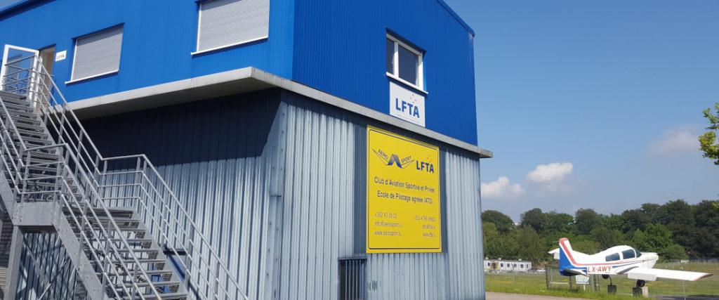 Aéro-Sport Clubhouse and LFTA Flightschool